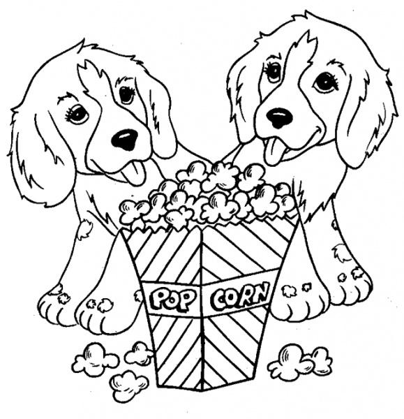 Köpek Boyama Sayfası Nuhun Gemisi Anaokulu