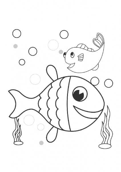 Balık Boyama Sayfası Nuhun Gemisi Anaokulu